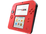 Nintendo 2DS - Crimson Red 2 - Side