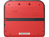 Nintendo 2DS - Crimson Red 2 - Back