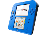 Nintendo 2DS - Electric Blue 2 - Side