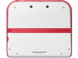 Nintendo 2DS - Scarlet Red - Back