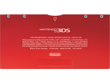 Battery Cover Kit - Nintendo 3DS - Flame Red