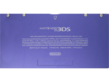 Battery Cover Kit - Nintendo 3DS - Midnight Purple