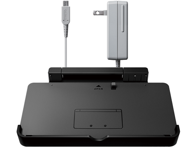 Charging Cradle + AC Adapter - Nintendo 3DS