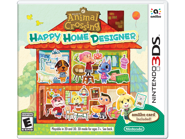 Animal Crossing: Happy Home Designer Box Art