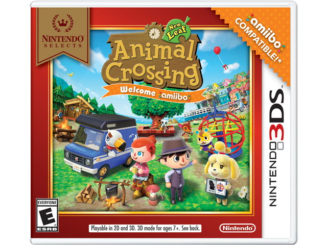 Animal Crossing: New Leaf - Nintendo Selects - Welcome amiibo Box Art