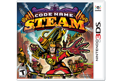 Code Name: S.T.E.A.M. Box Art