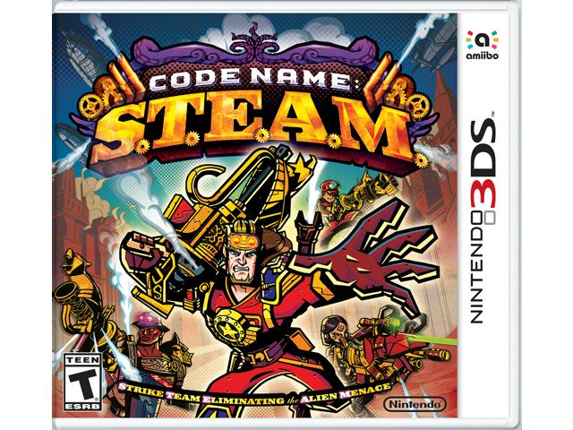 Code Name: S.T.E.A.M. Box Art