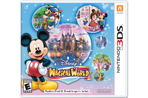 Disney Magical World Box Art