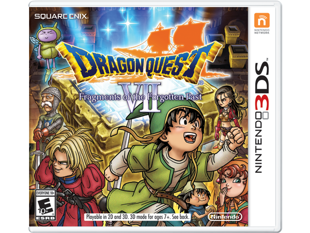 Dragon Quest VIII: Fragments of the Forgotten Past Box Art