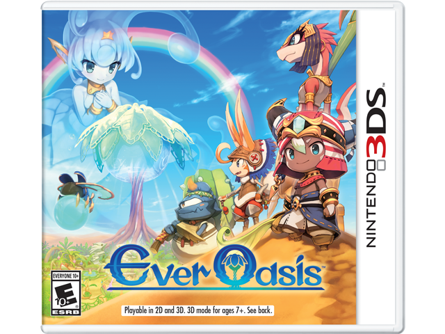 Ever Oasis Box Art