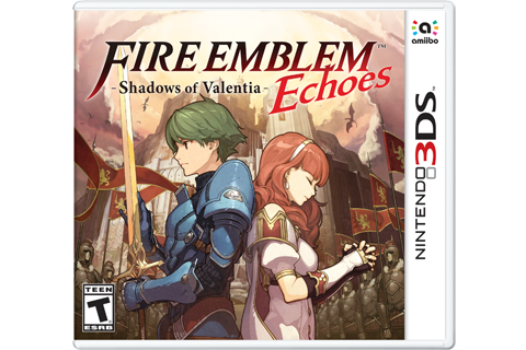 Fire Emblem Echoes: Shadows of Valentia Box Art