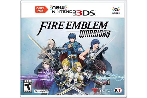 Fire Emblem Warriors - New 3DS - Box Art
