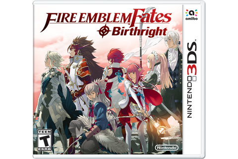 Fire Emblem Fates - Birthright Box Art