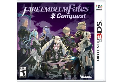 Fire Emblem Fates - Conquest Box Art