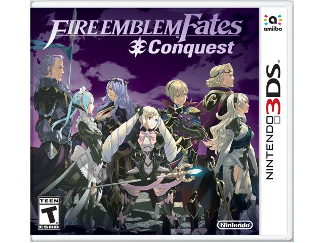 Fire Emblem Fates - Conquest Box Art
