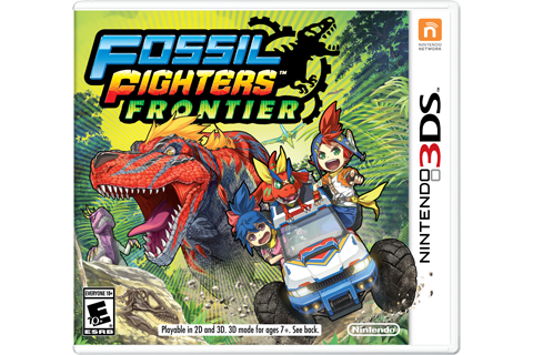 Fossil Fighters Frontier Box Art