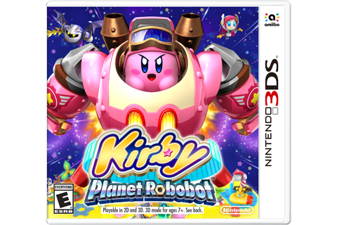 Kirby: Planet Robobot Box Art