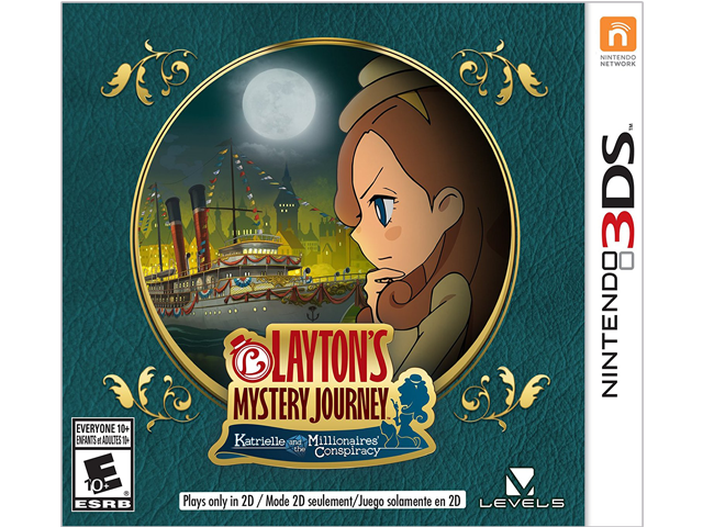 Layton's Mystery Journey: Katrielle and the Millionaires' Conspiracy Box Art