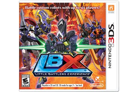 LBX: Little Battlers eXperience Box Art