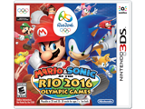 Mario & Sonic at 2016 Rio - 3DS Box Art