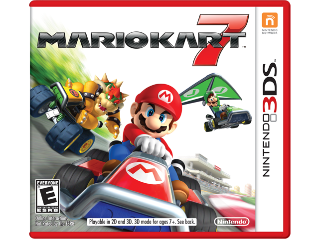 Mario kart 7 game box - Best Nintendo 3DS Games