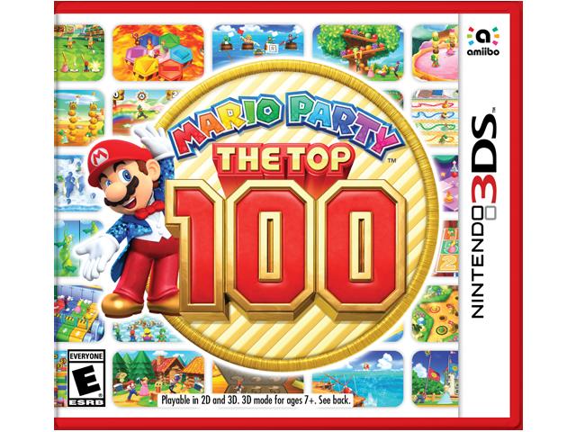Mario Party: The Top 100 Box Art