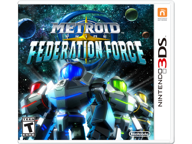 Metroid Prime: Federation Force Box Art