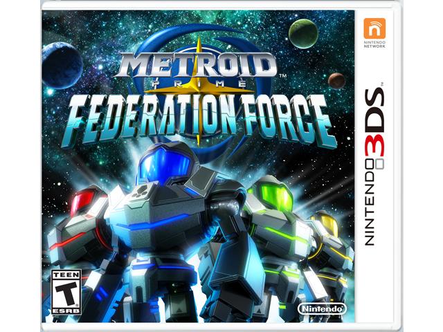 Metroid Prime: Federation Force Box Art
