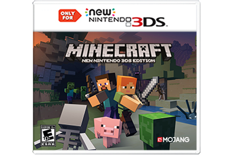Minecraft: New Nintendo 3DS Edition | Games | Nintendo 3DS