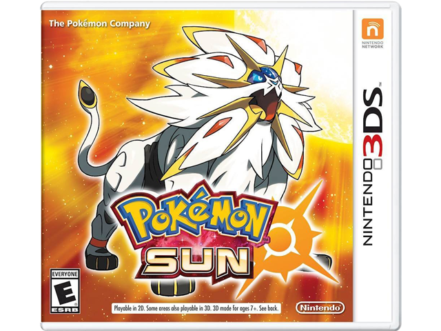 Pokemon Sun Box Art