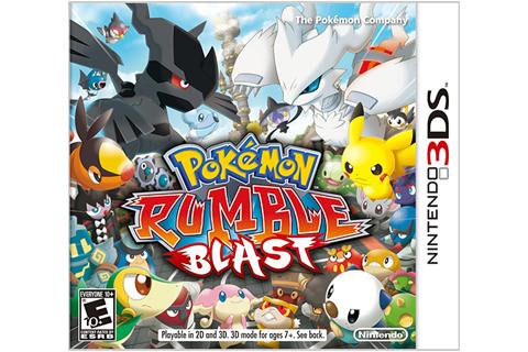 Pokemon Rumble Blast Box Art