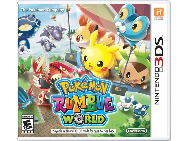 Pokemon Rumble World Box Art