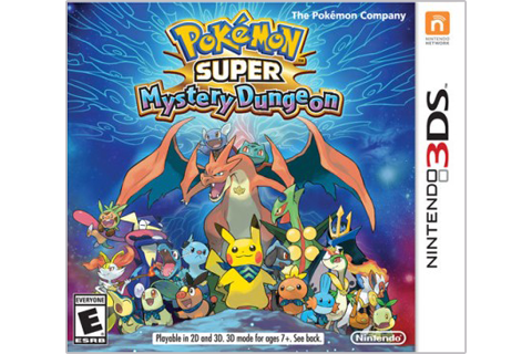 Pokemon Super Mystery Dungeon Box Art