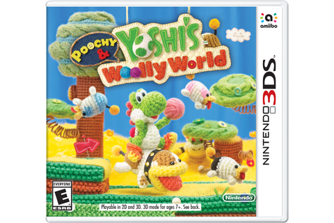 Poochy & Yoshi's Woolly World Box Art