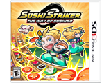 Sushi Striker - The Way of Sushido (3DS) Box Art