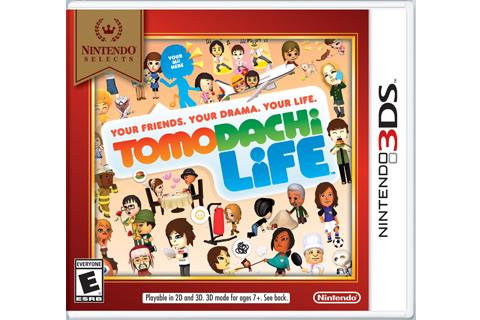 Tomodachi Life - Nintendo Selects Box Art