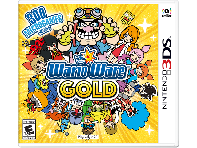 WarioWare Gold Box Art