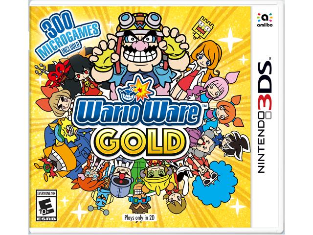 WarioWare Gold Box Art
