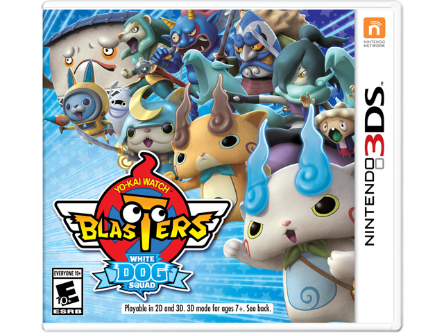 YO-KAI WATCH BLASTERS: White Dog Squad Box Art