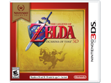 The Legend of Zelda: Ocarina of Time 3D - Nintendo Selects Box Art