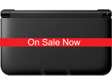 Black/Black Nintendo 3DS XL - REFURBISHED