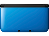 Nintendo 3DS XL - Blue/Black - Closed