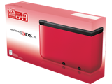 Red/Black Nintendo 3DS XL