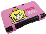 Hori Nintendo 3DS XL Silicone Protector - Peach - Askew
