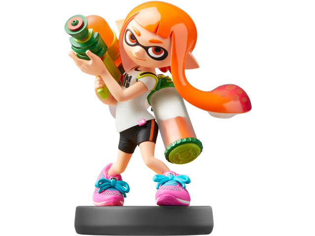 amiibo - Inkling Girl - Smash V1