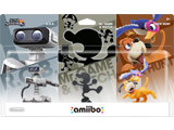 amiibo - R.O.B. (NES) + Mr. Game & Watch + Duck Hunt - Smash V1 - Package