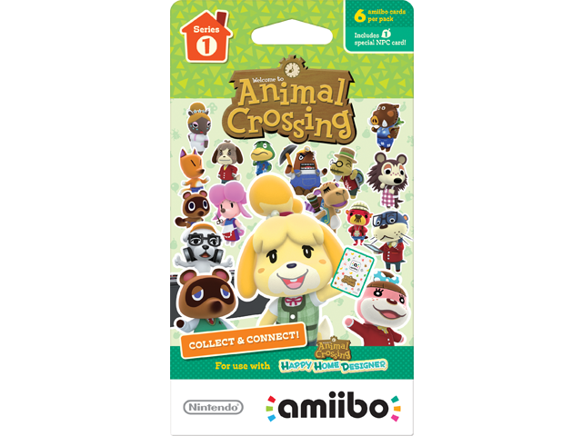 amiibo - Card Pack - Animal Crossing