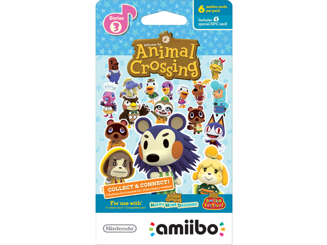 amiibo - Card Pack - Animal Crossing Series 3