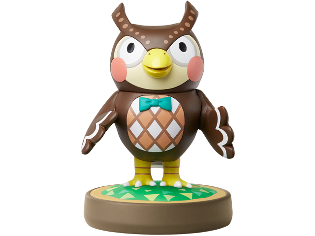 amiibo - Blathers - Animal Crossing V1