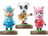 amiibo - Cyrus - K.K. Slider - Reese - Animal Crossing V1